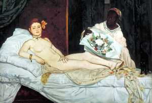 Edouard Manet - Olympia , Musée d'Orsay ,..