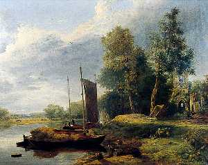 George Vincent - auf dem fluss Yare , Norfolk