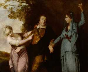Joshua Reynolds - david garrick ( 1716–1779..