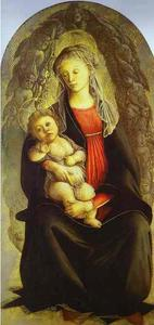 Sandro Botticelli - Madonna in der Glorie