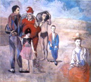 Pablo Picasso - Saltimbanques ( die famil..