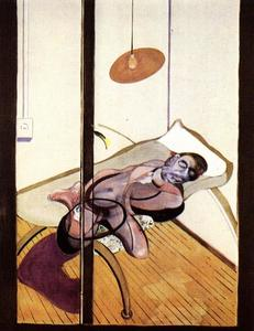 Francis Bacon - Sleeping Abbildung 1974