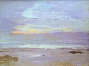 James Abbott Mcneill Whistler - crepuscule in opal , Trouville