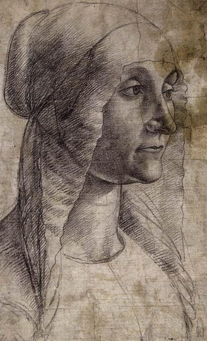 Elderly Woman, 1486 von Domenico Ghirlandaio (1449-1494, Italy) | ArtsDot.com
