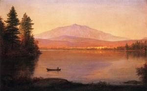 Frederic Edwin Church - Berg Katahdin von Millinocket Camp