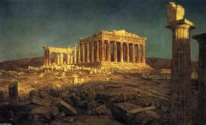 Frederic Edwin Church - Der Parthenon