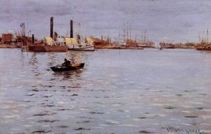 William Merritt Chase - der osten fluss