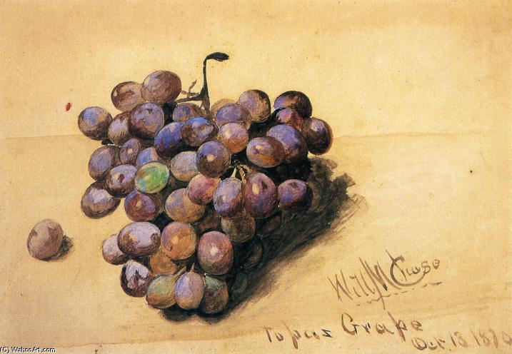 Topaz Grapes, 1870 von William Merritt Chase (1849-1916, United States) | ArtsDot.com