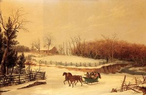 Thomas Birch - Sleigh Ride