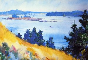 Frank Weston Benson - Fox Islands Verkehrsweg USA