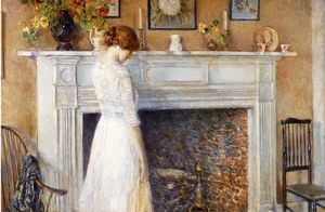 Frederick Childe Hassam - in der altes Haus