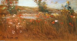 Frederick Childe Hassam - Poppies, Isles of Shoals 1