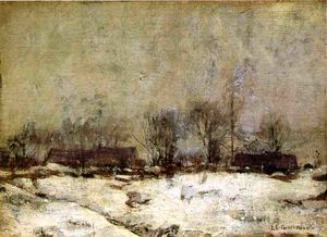 John Henry Twachtman - winter landschaft , Cincinnati
