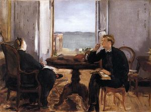 Edouard Manet - Interior in Arcachon