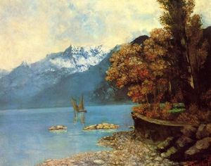 Gustave Courbet - Genfer See