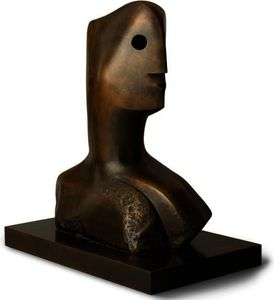 Henry Moore - Chef arbeitend  Leitbild