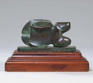 Henry Moore - Maquette für Carving