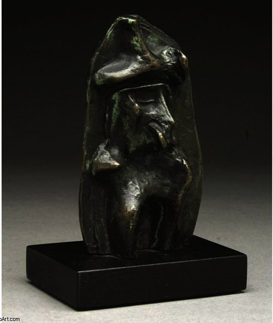 Maquette for Relief No.1, illustration von Henry Moore (1898-1986, United Kingdom)
