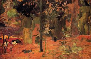 Paul Gauguin - Die Badenden