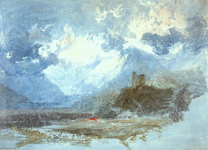 William Turner - Dolbadern Burg