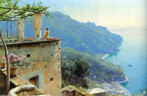 Peder Mork Monsted - Die Küste Ravello