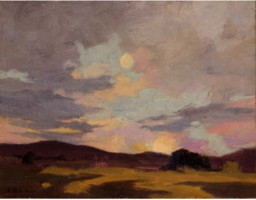 Moving In Clouds von Eanger Irving Couse (1866-1936, United States) | ArtsDot.com
