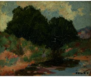 Eanger Irving Couse - New Mexican-Stream