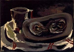 Georges Braque - Austern