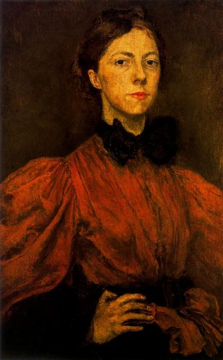 Self-portrait 1 von Gwen John (1876-1939, United States)