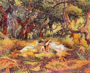 Henri Edmond Cross - Der Wald