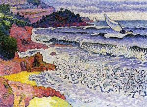 Henri Edmond Cross - Das Läppen Sea