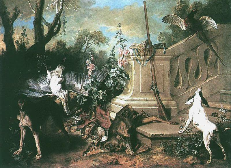 The Dead Roe von Jean-Baptiste Oudry (1686-1755, France)