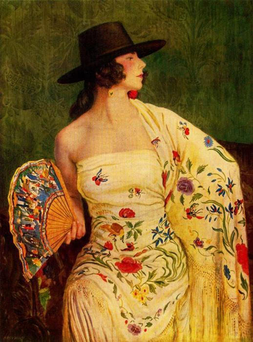 Andaluza von Jorge Apperley (George Owen Wynne Apperley) (1884-1960, United Kingdom)
