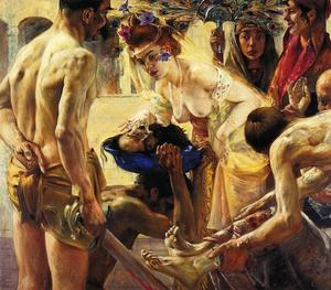 Lovis Corinth (Franz Heinrich Louis) - Salome , zweite version