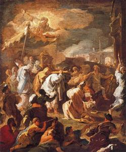 Luca Giordano - Transport heilige Lade