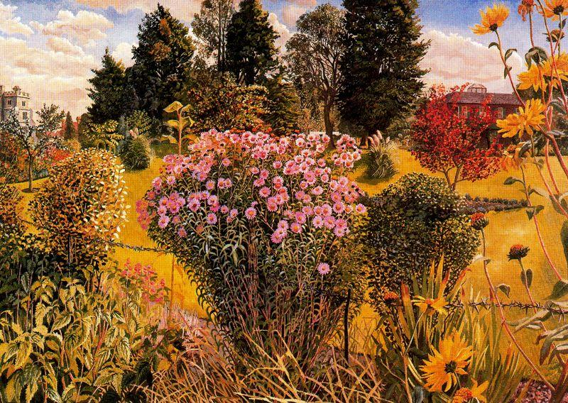 Bellrope Meadow von Stanley Spencer (1891-1959, United Kingdom)