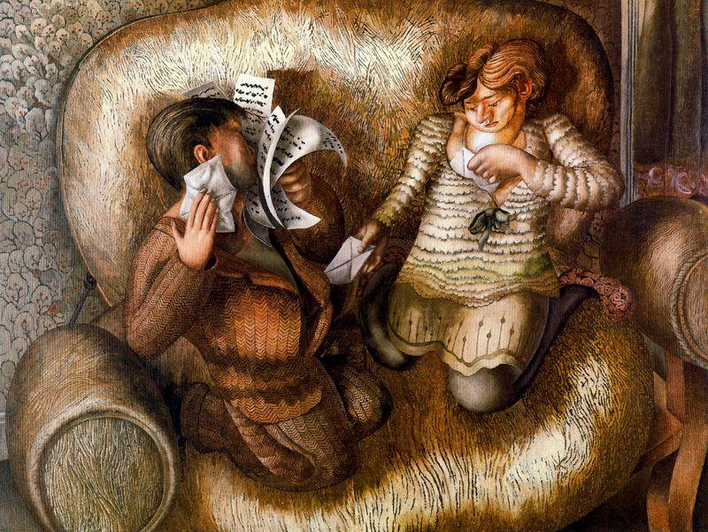 liebe briefe von Stanley Spencer (1891-1959, United Kingdom)