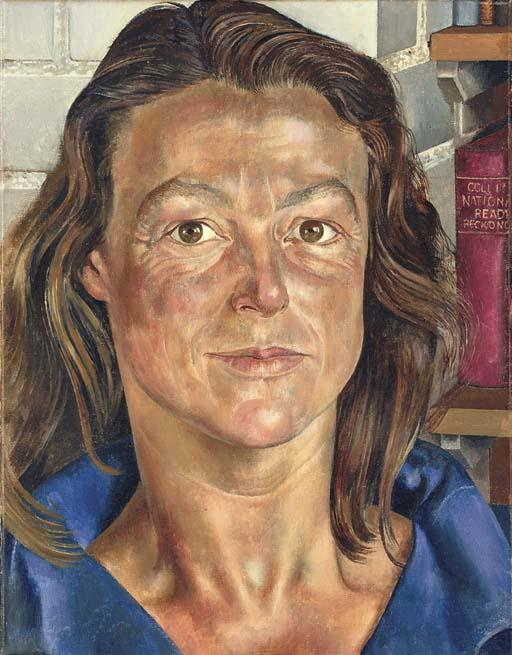 Portrait Sibyl Williams von Stanley Spencer (1891-1959, United Kingdom) | ArtsDot.com