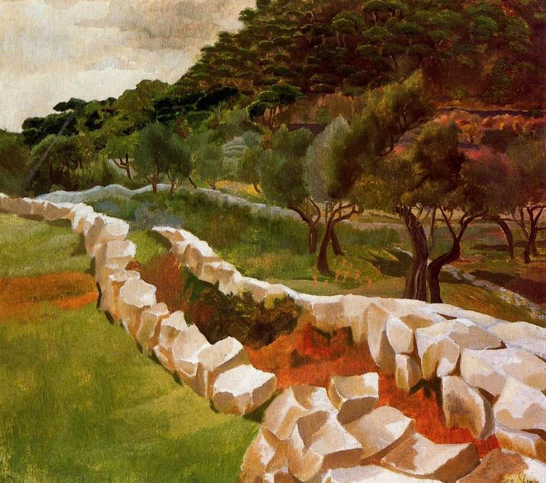 Ragusa (Dubrovnik) von Stanley Spencer (1891-1959, United Kingdom)