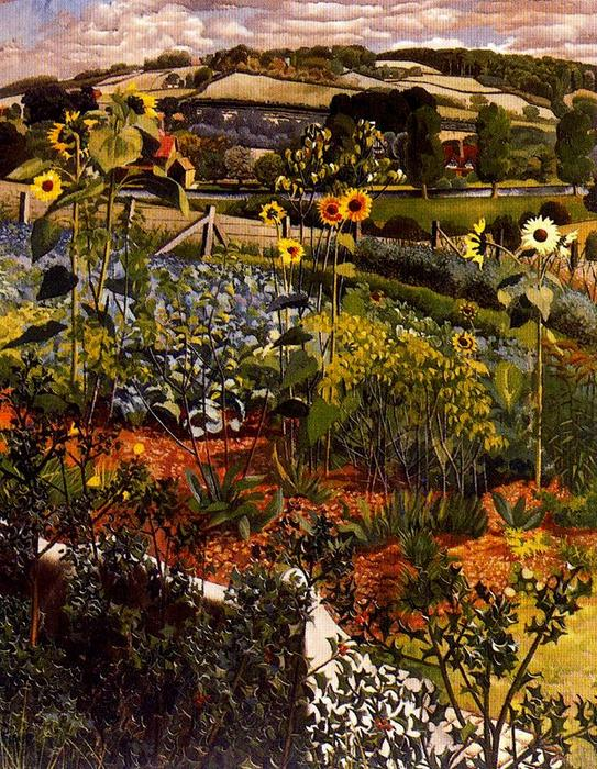 Rowborough. Cookham von Stanley Spencer (1891-1959, United Kingdom) | ArtsDot.com
