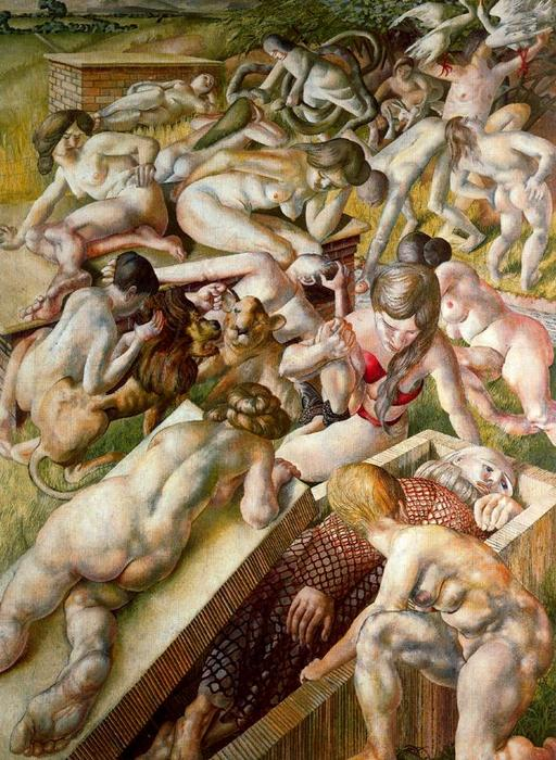 Sin título 1 von Stanley Spencer (1891-1959, United Kingdom)