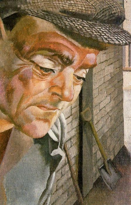 Die Furnace Man von Stanley Spencer (1891-1959, United Kingdom)