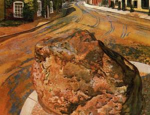 Stanley Spencer - Die Tarry Stone. Cookham