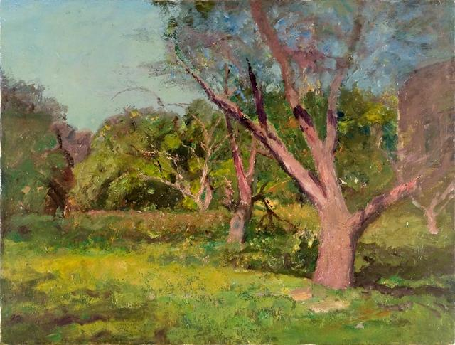 The Old Orchard von Theodore Clement Steele (1847-1926, United States) | Museum Kunstreproduktionen | ArtsDot.com