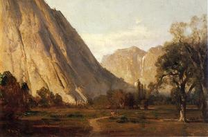 Thomas Hill - Piute Indianer, Yosemite