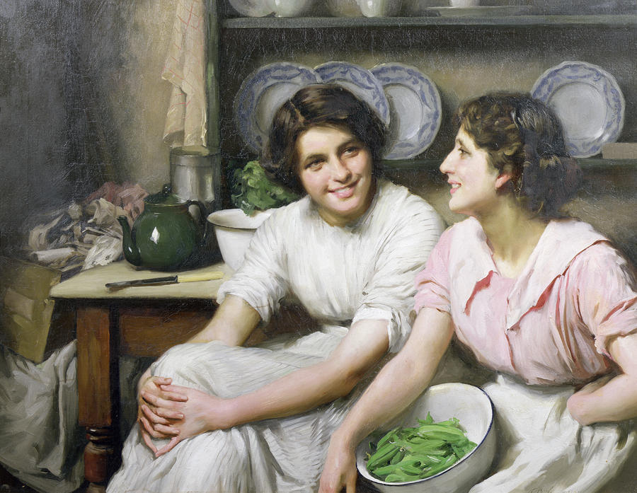 Schwätzer, 1890 von Thomas Benjamin Kennington (1856-1916, United Kingdom)