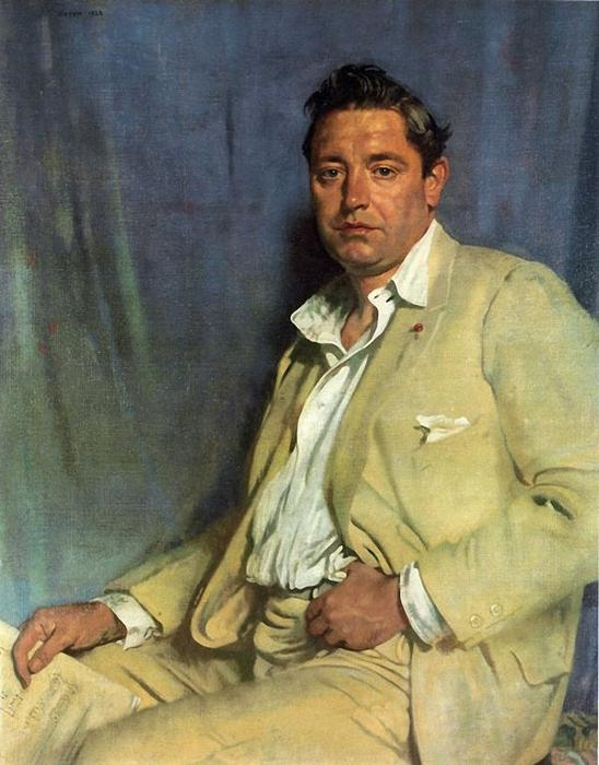 Graf John McCormack von William Newenham Montague Orpen (1878-1931, Ireland)