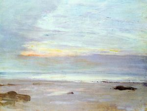 James Abbott Mcneill Whistler - Crepuscule in Opal: Trouville