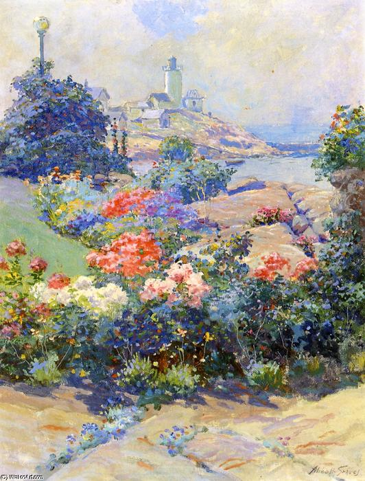 Eastern Point, Gloucester, malen von Abbott Fuller Graves (1859-1936, United States)