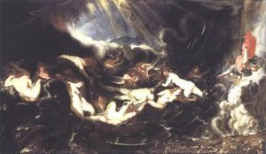 Peter Paul Rubens - Hero und Leander